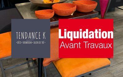 Liquidation avant travaux – Tendance K