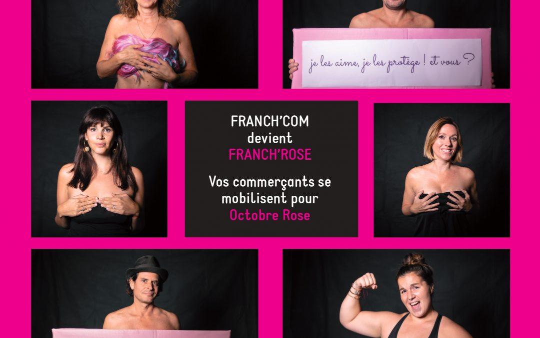 FRANCH.COM se mobilise pour Octobre Rose
